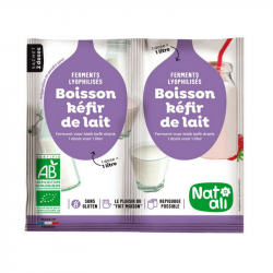 Hygiena - Boisson kéfir de lait bio 2X6g