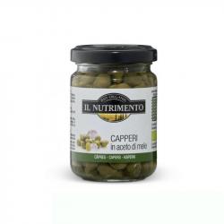 Il nutrimento - Kappertjes met azijn (140 g) Bio