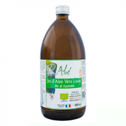Pur'Aloe - Jus d'Aloe Vera à boire (500ml) Bio
