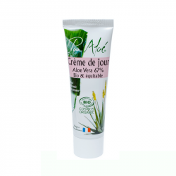Pur'Aloe - Crème de jour à l'aloe vera (50ml) Bio