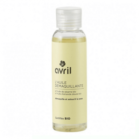 Avril - make-up removal oil with organic sesame oil (100ml)