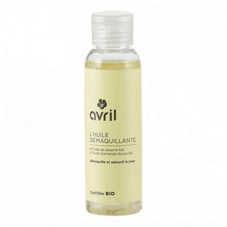 Avril - huile démaquillante à l'huile de sésame bio (100ml)
