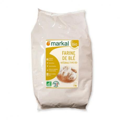 Markal - Wheat flour integral T150 1kg Bio