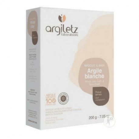 Argiletz - Ultra-ventilated white clay 200g