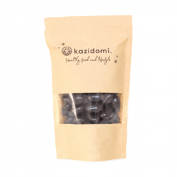 Kazidomi - almonds coated with dark chocolate 250g Bio