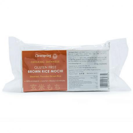 Clearspring - Mochi de riz complet 250g (6 pièces)