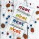 Neat Barre Fruitée aux Fruits Rouges & quinoa 45g, NEAT, Barres