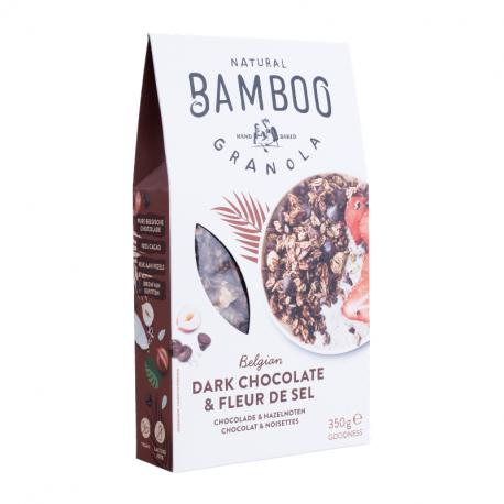 BAMBOO GRANOLA - Dark Chocolate & Fleur de Sel - 350g