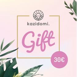 Kazidomi Gift Card  €30