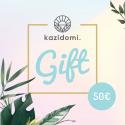 Kazidomi - Bon cadeau de 50€