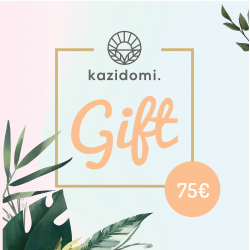 Bon cadeau Kazidomi 75€, Bons cadeau