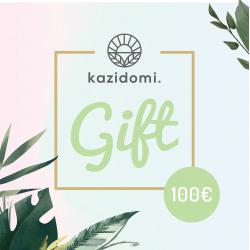 Bon cadeau Kazidomi 100€, Bons cadeau