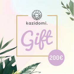 Kazidomi Gift Card  €200