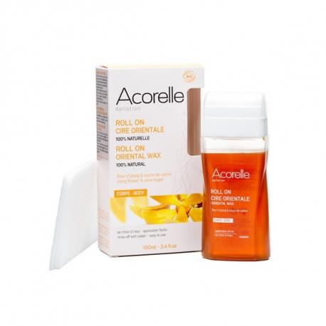 Acorelle - Roll on oriental wax met Ylang bloem & Rietsuiker - 100ml