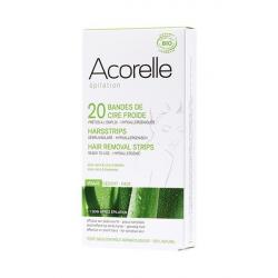 Acorelle - Harsstrips Face (bio) - 24strips