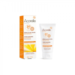 Acorelle - Crème solaire teintée SPF 30 - 50ml