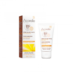 Acorelle - Crème Solaire Teintée SPF 50 - 50ml