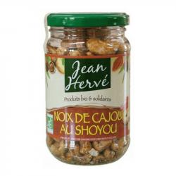 Jean Hervé - Geroosterde amandelen met sojasaus 180 gr Bio