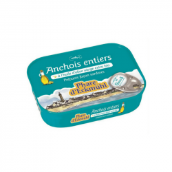 Phare d'Eckmühl - Anchois à l'huile d'olive extra vierge115g Bio
