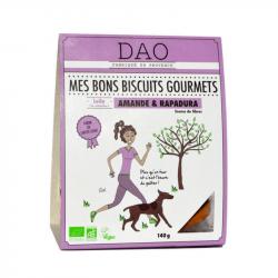 DAO - Biscuits gourmets aux amandes et rapadura 140g Bio