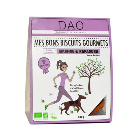 DAO - Gourmet biscuits spelled almonds and lemon 140g Organic