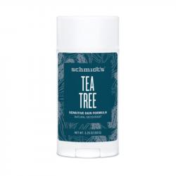 Déodorant naturel stick Tea Tree 92g- Schmidt's