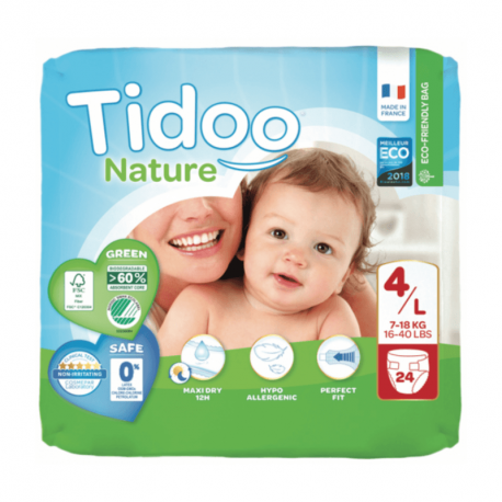 Buy Nappies Stand Up Pants Baby Diapers 4l Tidoo Nature