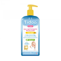 Tidoo Care - Organic Calendula Micellar Cleansing Water for Baby- 500ml