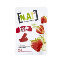 NA! - Fruit Sticks Aardbei- 40g
