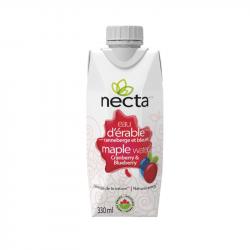 Necta - Eau d'Érable Cranberry et Bleuet BIO - 330ml