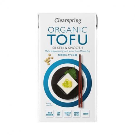 Silken tofu (bio) 300g,Specerijen