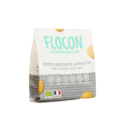 Flocon - Biscuit poivre noir 80g