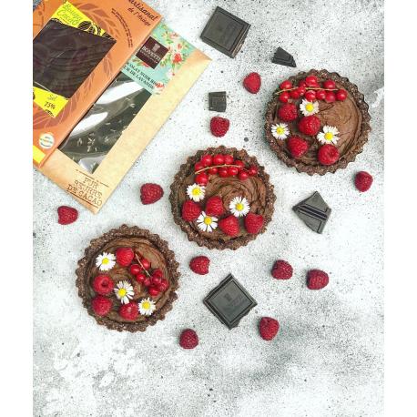 Pure chocolade met vijg biologisch 70g,Chocolaatjes