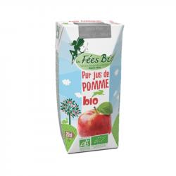 Les Fées Bio - Pur Jus de Pomme Bio - 20cl