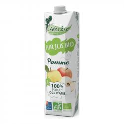 Les Fées Bio - Pur Jus de Pomme Bio - 1L