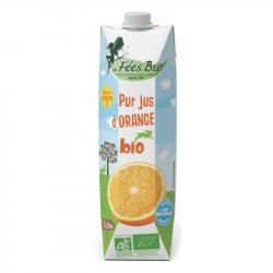 Les Fées Bio - Pur Jus de d'Orange Bio - 1L