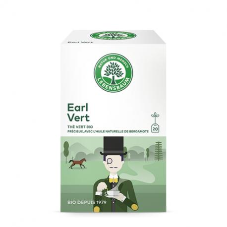 Lebensbaum - Organic Green Earl Tea 20 Bags