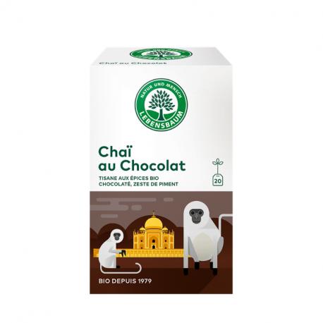 Lebensbaum - Kruidenthee Chocolate Chai Bio 20 zakjes