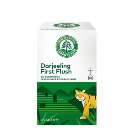 Lebensbaum - Black Tea Darjeeling First Flush Bio 20 Zakken