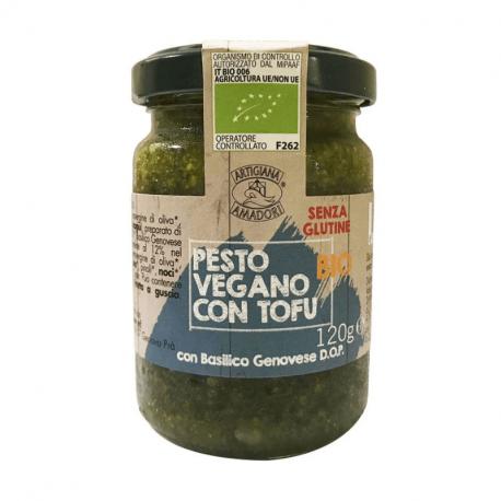 Artigiana Amadori-Pesto with Tofu 120g