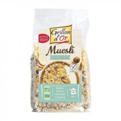 Muesli glutenvrij 500g,Ontbijt: vlokken en granen