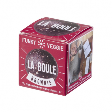 Funky Veggie - The Ball Brownie 23g