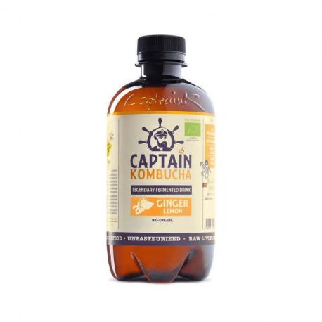 Captain Kombucha - Gingembre Citron Bio 400ml