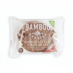 Bamboo - Cookies Chocolat & Fleur de Sel Bio 2x40g