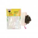 Pack of 5 tea bags reusable