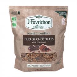 Favrichon - Muesli duo de chocolats 500g