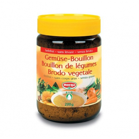 Morga - Vegetables Bouillon without / fat 200g