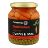 Organic Carrots & Peas 350g