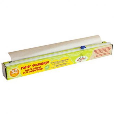 Ah Table - Dévidoir papier cuisson garni Écologique 39cm x 15m