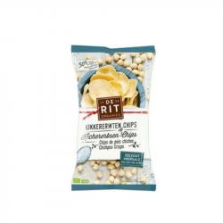 De Rit - Chips de pois chiches Sel Mer 75g